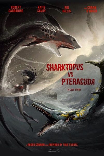 Sharktopus - (2) Sharktopus vs. Pteracuda