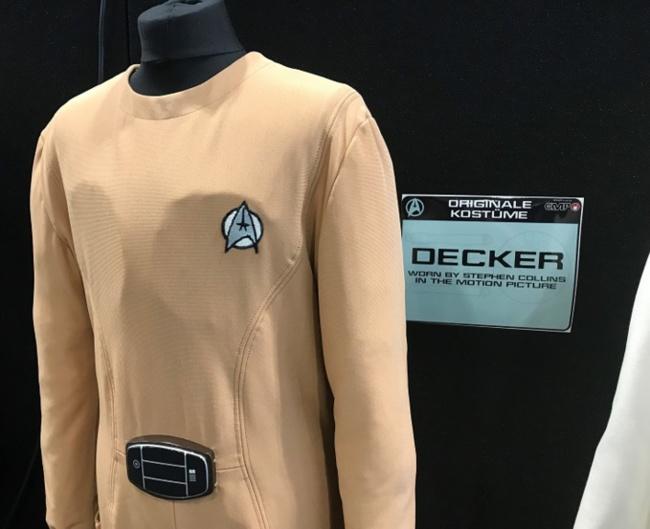 Costume original de Decker porté par Stephens Collins dans Star Trek The Motion Picture / Photo @KoyoliteTseila