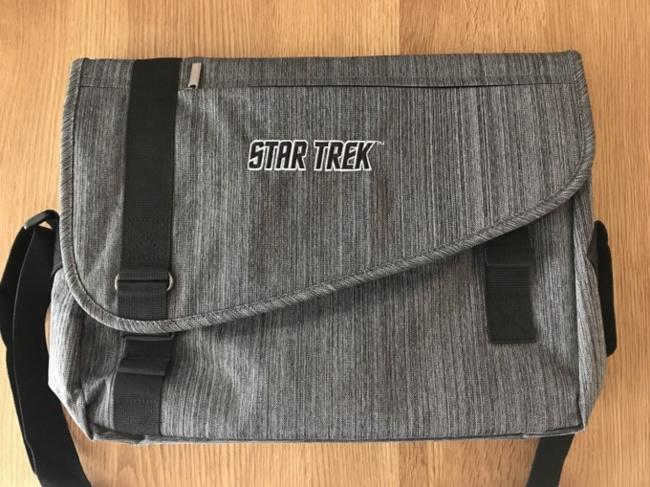 Sac Star Trek que j'ai remporté à la vente aux enchères ^-^ / Photo @KoyoliteTseila