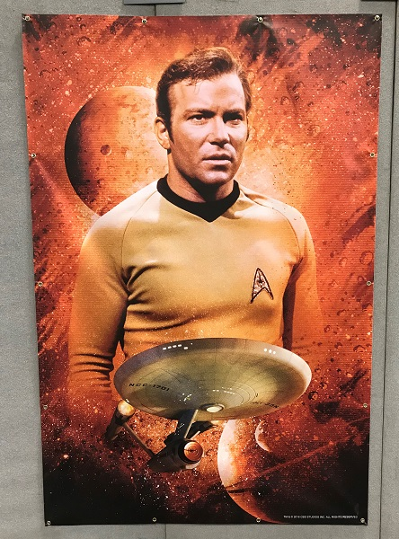 Affiche : capitaine James T. Kirk / Photo @KoyoliteTseila