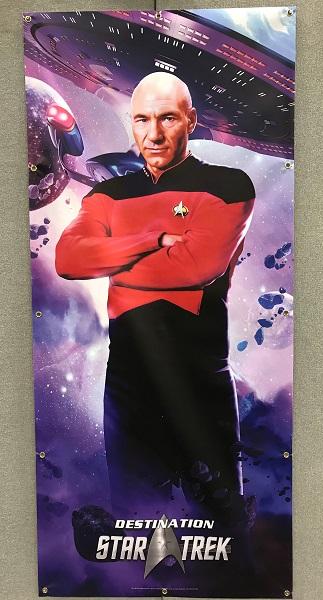 Affiche : capitaine Jean-Luc Picard / Photo @KoyoliteTseila