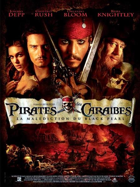 Pirates des Caraïbes 1 - La Malédiction du Black Pearl (Pirates of the Caribbean : The Curse of the Black Pearl, 2003)