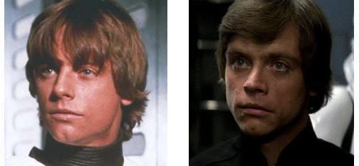 Star Wars - Mark Hamill et son visage