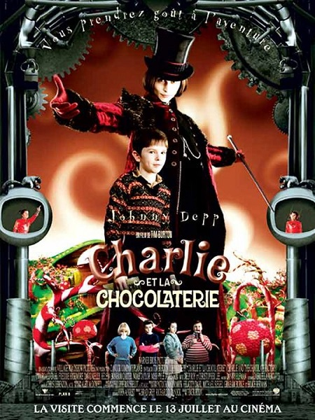 Charlie et la Chocolaterie (Charlie and the Chocolate Factory, 2005)