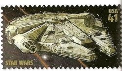 Star Wars - Timbres postaux