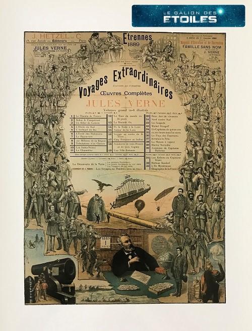 Jules Verne / Illustration : Etrennes 1889