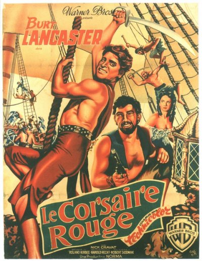 Le Corsaire rouge (The Crimson Pirate, 1952)