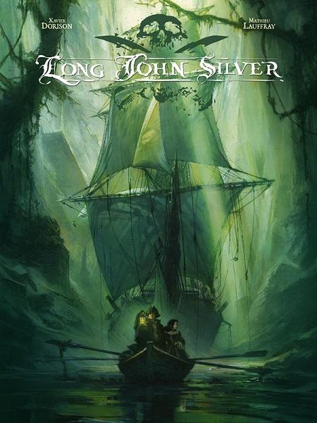 BD en 4 tomes : Long John Silver
