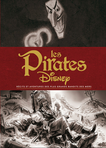Livre illustré : Les Pirates Disney