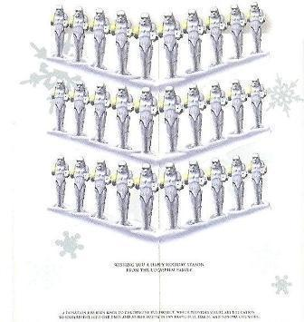 2007 Lucasfilm : Wishing you a happy Holiday season from the Lucasfilm Family