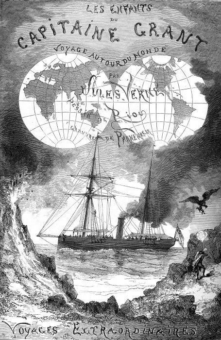 Couverture originale du roman chez l'éditeur Hetzel en 1868