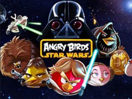 Jeu mobile - Angry Birds Star Wars