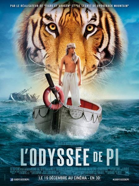 L'Odyssée de Pi (Life of Pi, 2012)