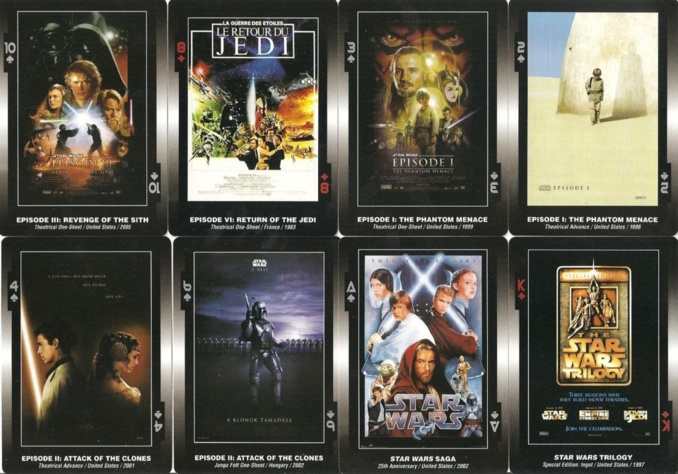 Star Wars - Cartes posters