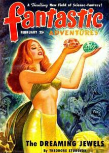 Couverture de Fantastic Adventures | Février 1950