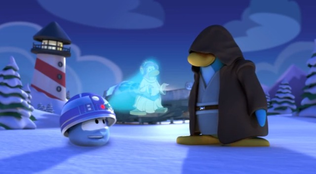 Star Wars - Club Penguin, la Fête Star Wars