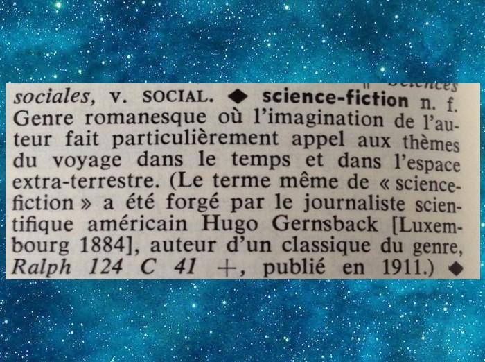 Définition de la Science-Fiction selon les dictionnaires