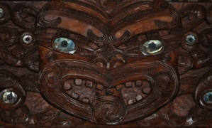 Sculpture maorie