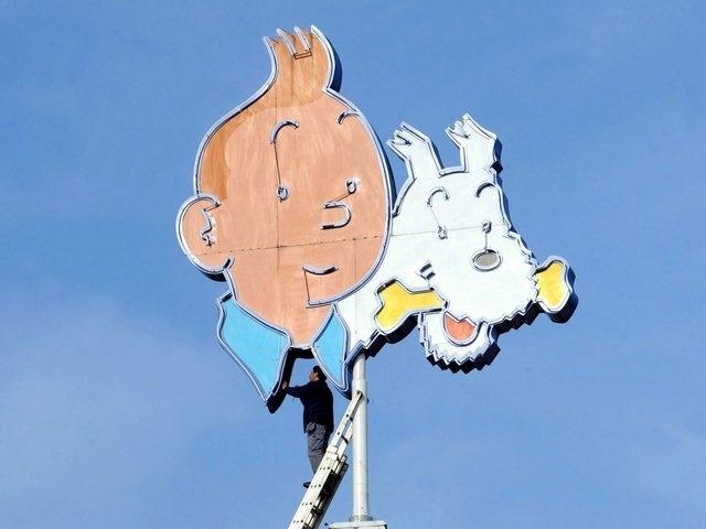 Tintin - Bientôt aux enchères à Paris
