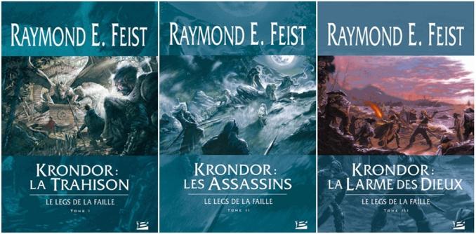 Les Chroniques de Krondor - Tome 3 - Le Legs de la Faille (Raymond E. Feist)