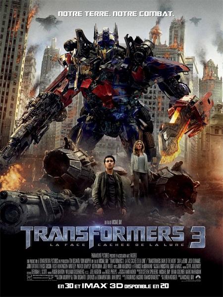 Transformers (3) - La Face cachée de la Lune