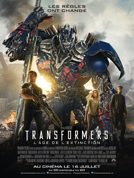 Transformers (4) - L'âge de l'exctinction