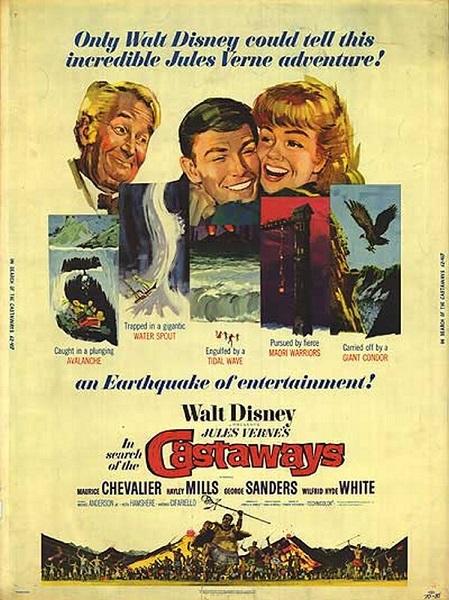 Les Enfants du Capitaine Grant | In Search of the Castaways | 1962