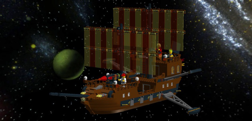 Le Galion des Etoiles en LEGO
