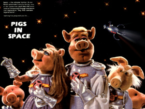 Les Cochons dans l'Espace
