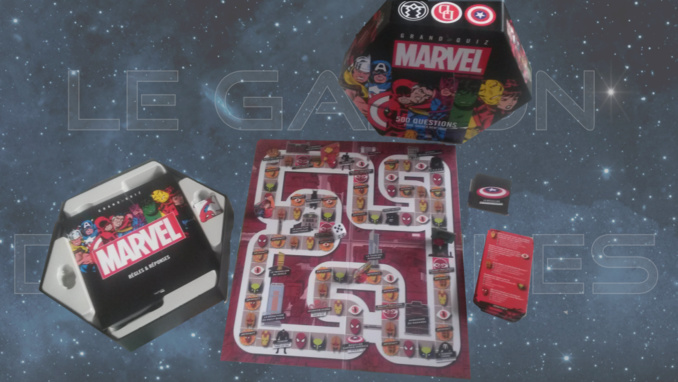 Jeu de plateau - Grand Quiz Marvel