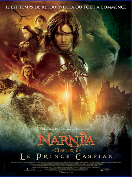 Le Monde de Narnia - (2) Le Prince Caspian