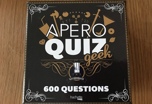Jeu de plateau - Apéro Quiz Geek
