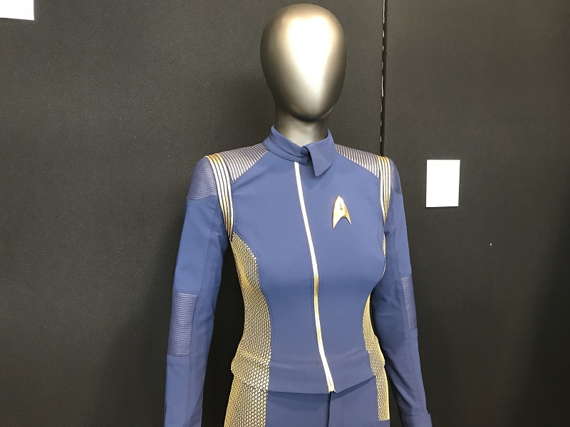 Costume original de la série Star Trek Discovery / Photo @KoyoliteTseila