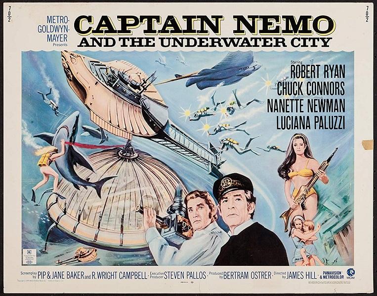 Le Capitaine Nemo et la Ville sous-marine (1969)
