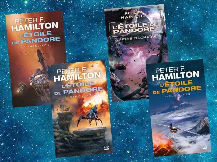 L'Étoile de Pandore | Pandora's Star | Peter F. Hamilton | 2004-2005