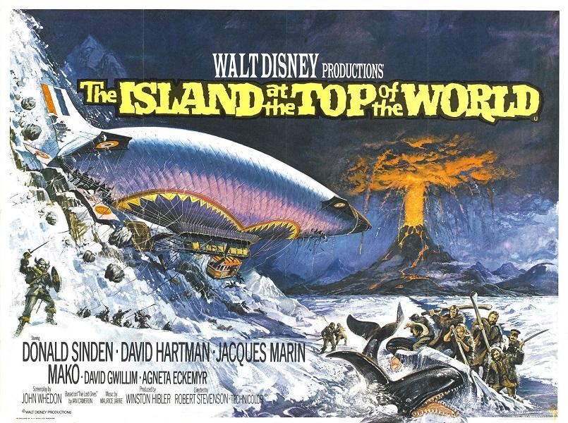 L'Île sur le Toit du Monde   The Island at the Top of the World   1974