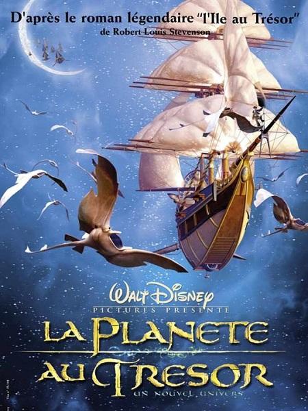 Film d'animation : La Planète au Trésor