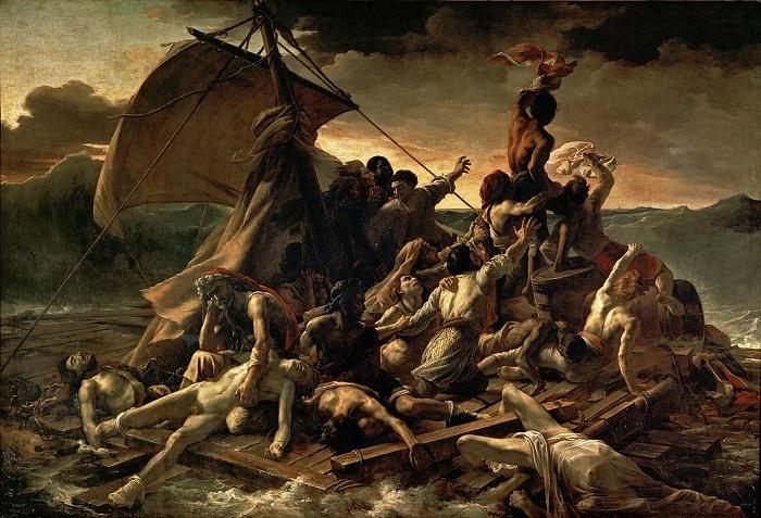 Le tableau Le Radeau de La Méduse (1819) de Théodore Géricault