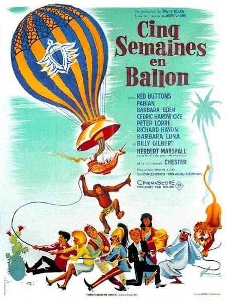 Cinq Semaines en Ballon (1962)