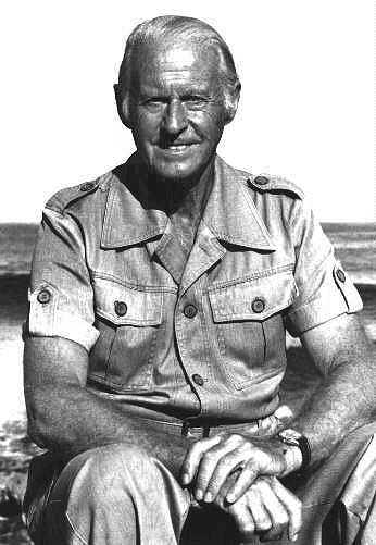 L'explorateur norvégien Thor Heyerdahl vers 1980