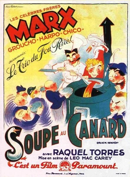 La Soupe au Canard | Duck Soup | 1933