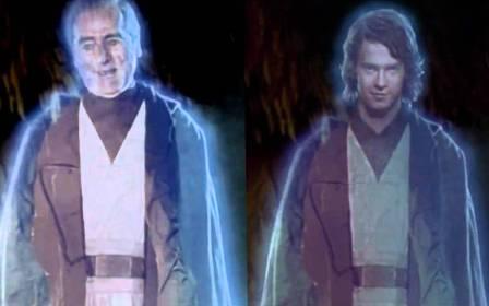 Star Wars - Hologramme d'Anakin retouché