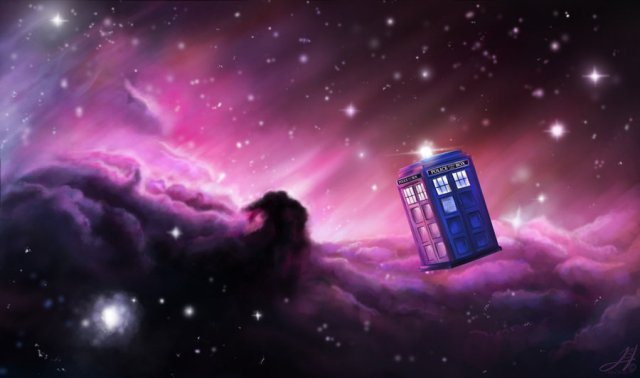Tardis in Space par SheWolf294