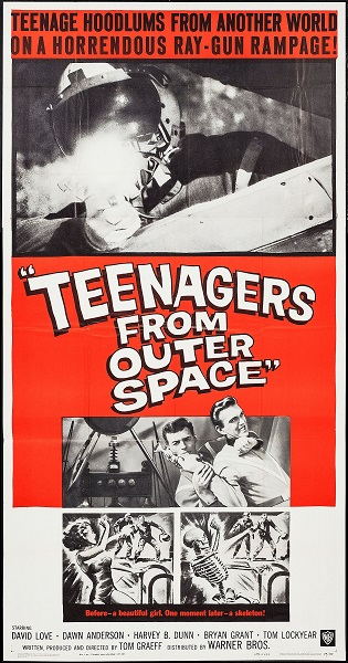 L'Invasion martienne (Teenagers from Outer Space, 1959)