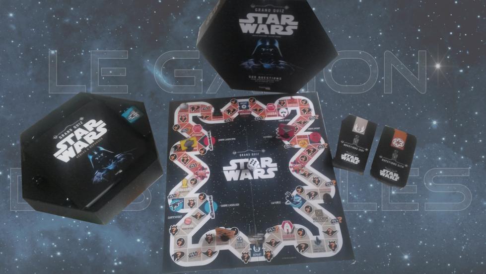 Jeu de plateau - Grand Quiz Star Wars