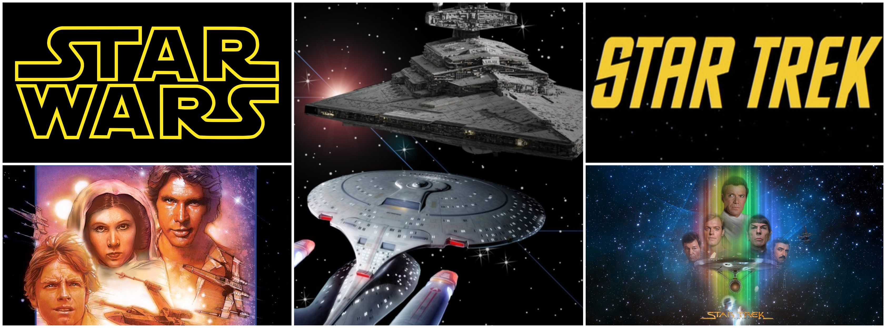 Plutôt Star Wars ou Star Trek ?