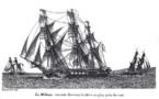 Radeau de la Méduse - Immortalisé sur un tableau
