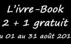 Ivre-Book : opération 2+1 gratuit