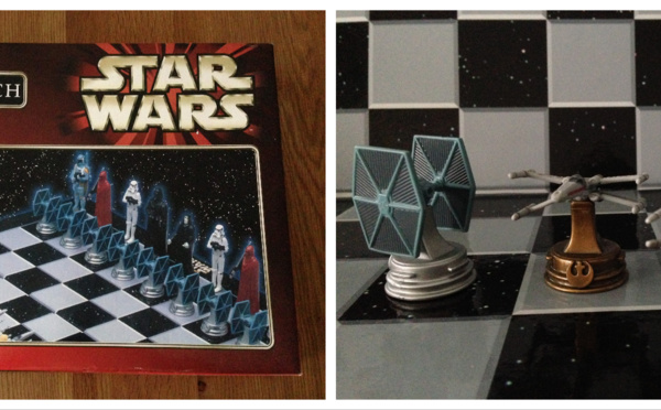 Jeu de plateau - Jeu d'Échecs Star Wars