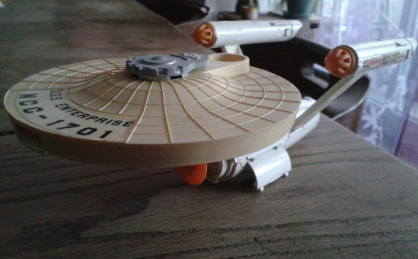 Star Trek - USS Enterprise Dinky Toys 1976